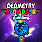 Geometry Neon Dash Rainbo…